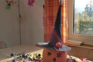 Halloween-Dekoration selbst gebastelt
