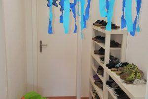 Gang und Garderobe